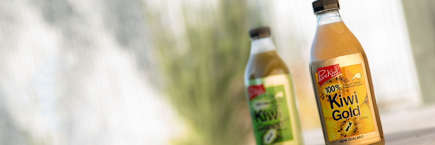 Pure Kiwi Natural Juices Banner